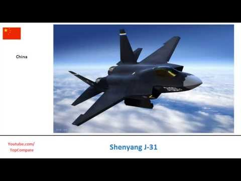Shenyang J-31 Vs  F-16 Fighting...