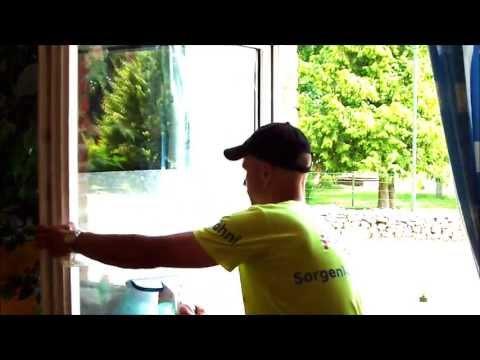 Fenstersauger der Test -endlich streifenfreie Fenster