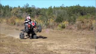 7. Yamaha YFZ 450 wheelies