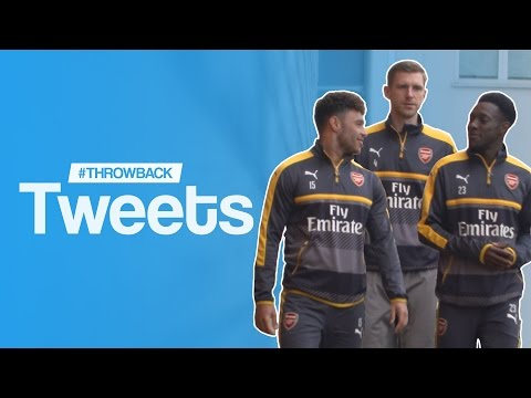 Oxlade-Chamberlain, Mertesacker & Welbeck React To Their Funniest Ever Tweets | #ThrowbackTweets