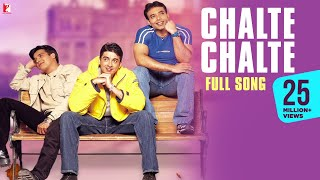 Video Chalte Chalte - Full Song | Mohabbatein | Uday Chopra | Jugal Hansraj | Jimmy Shergill MP3, 3GP, MP4, WEBM, AVI, FLV Juli 2018