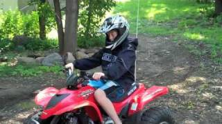 9. Arctic cat dvx 90cc atv