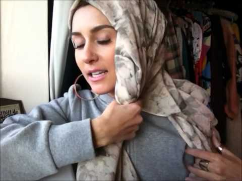 how to wear hijab stylish taliban/turban hijab tutorial