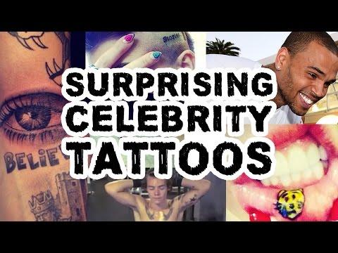 Surprising Celebrity Tattoos