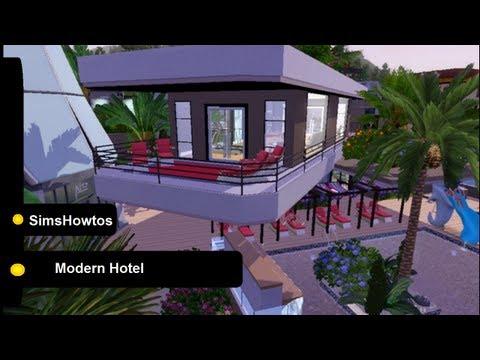 comment construire hotel simcity