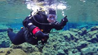 The Dive Between Continents - Silfra, Iceland