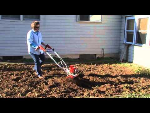 Anleitung zum Betrieb der Viertakt-Gartenfräse Deluxe