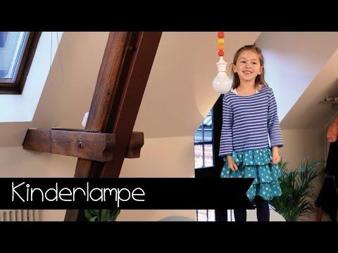 Lampe fürs Kinderzimmer! | Kinderlampe | DIY | KINNERTIED | #12