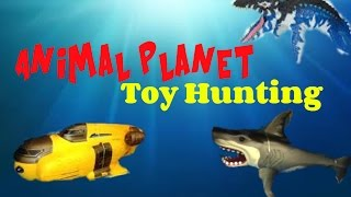 Animal Planet Toy Hunting Deep Sea Adventures and More!