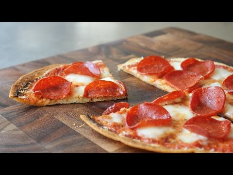 Pourable Pizza - How to Make Liquid Pizza Dough - Pourable Pizza Dough Recipe