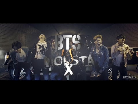 Bts Vs Monsta X ; Gangster!au ;