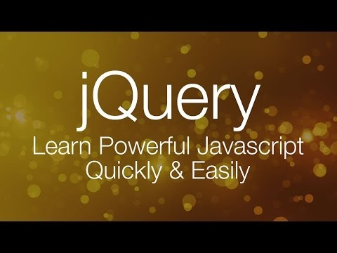 jQuery Tutorial #1 – jQuery Tutorial for Beginners