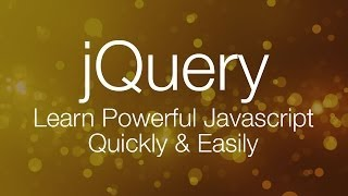 JQuery Tutorial #1 - JQuery Tutorial For Beginners