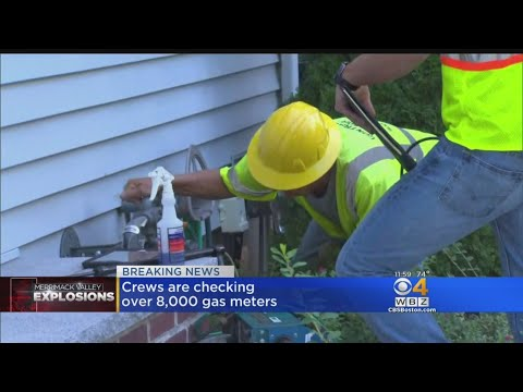 Columbia Gas Crews Checking 8,000 Meters After Merrimack Valley Explosions