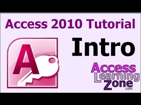access - Are you new to Microsoft Access 2010? This video tutorial will teach you all of the basics of how to build a Microsoft Access database. You will learn Databa...