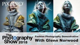 Video Fashion Photography Demonstration with Glenn Norwood - The Photography Show 2018 MP3, 3GP, MP4, WEBM, AVI, FLV Agustus 2018