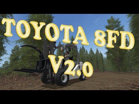 Toyota 8FD v2.0