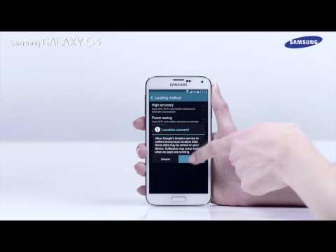 Samsung GALAXY S5 - jak korzystać z funkcji wiadomości Geo