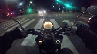 10. Yamaha Vino 125 Night Ride POV