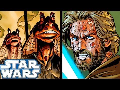 Obi-Wan FIGHTS Zombie Gungans!! - Star Wars Comics Explained