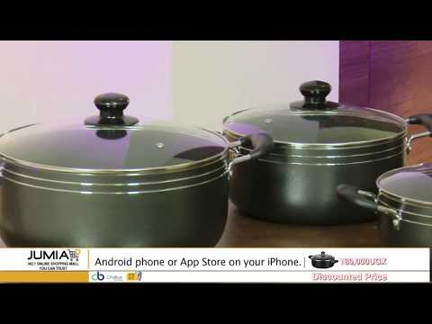 EPS 8: SHOPPING WITH JUMIA - Saucepans