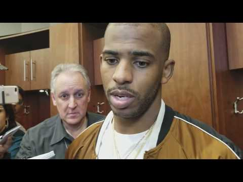 Chris Paul after huge game against Warriors