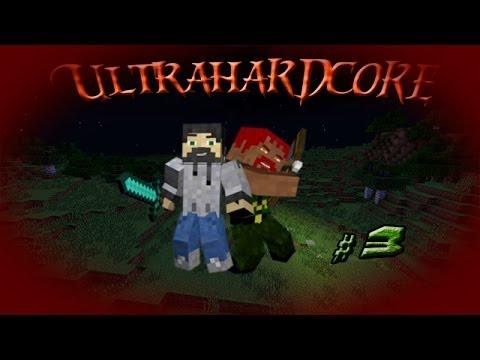 Minecraft UltraHardcore #3 В ад!