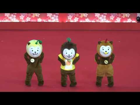 ゆるきゃらダンス選手権③ みやざき犬/二日目(9日)/ふるさと祭り東京 …