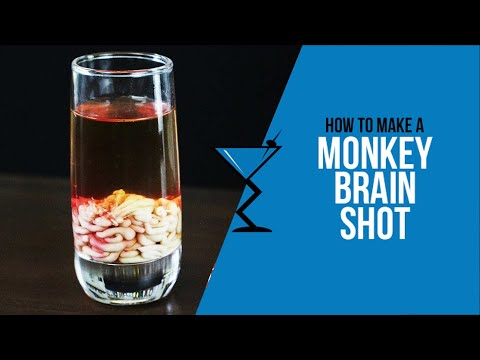 HALOWEEN COCKTAIL – MONKEY BRAINS
