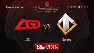 Escape vs LGD.cn, game 1