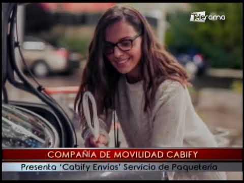 Compañia de movilidad Cabify presenta Cabify Envíos servicio de paquetería