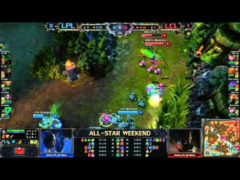 China chinese cloud stra - League of Legends semi-final Korean LCL vs chinese LPL Date: 05.26.2013 Live on twitch.tv.
