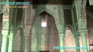 The Saadian Tombs in Marrakesh morocco