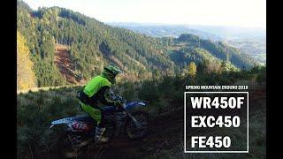 5. Husqvarna FE450-Yamaha WR450F-KTM EXC450 Spring enduro 2018