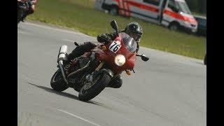 8. Moto Guzzi V11 Le Mans Rosso Corsa - MAB Power Exhaust System