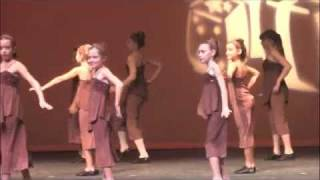 Arden dances to the  Nutcraker's spanish chocolate.  turning pointe dance in bartonville tx.  this was from the dress rehearsal.