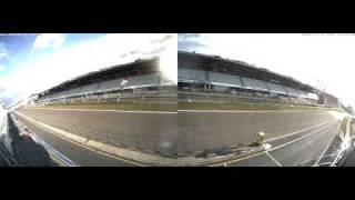 Nurburgring Grand Prix Webcam Timelapse October 18, 2009
