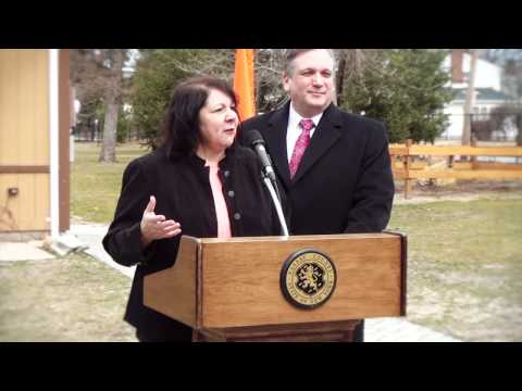 Nassau County Executive Ed Mangano Visits CSTL Tanglewood Preserve
