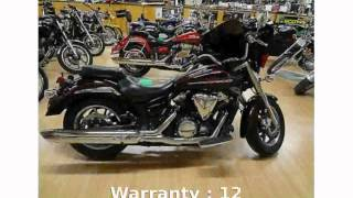 10. 2009 Yamaha V Star 1300 Base Review & Specs