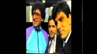 Video ripreso per le vie di Aragona nel 1993.