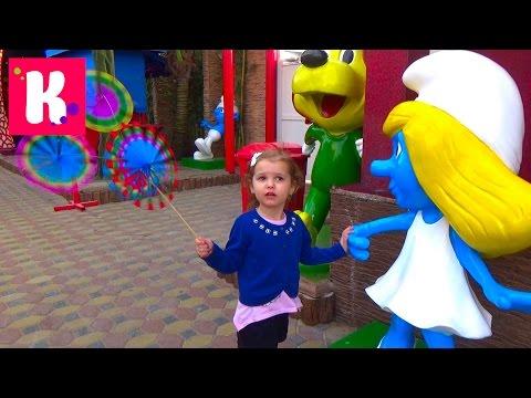 Катя в Дубаи День #2 едем в Крик Парк и Глобал Вилледж покупаем игрушки VLOG Dubai Global Village (видео)