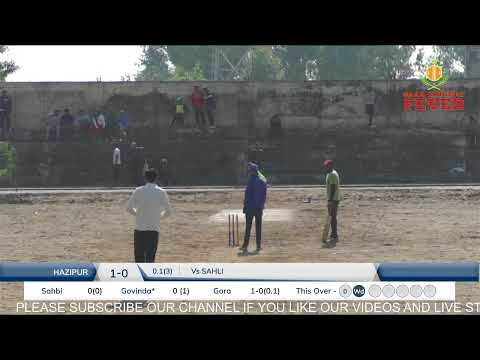 JAURA SHATTRA CRICKET CUP || FINAL DAY || 5AAB CRICKET FEVER Live Stream