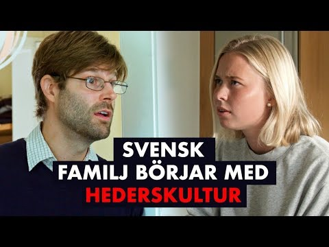 Svensk familj börjar med hederskultur