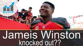 Video Jameis Winston leaves game vs Cardinals with shoulder injury, knocked out of Sunday's game MP3, 3GP, MP4, WEBM, AVI, FLV Oktober 2017