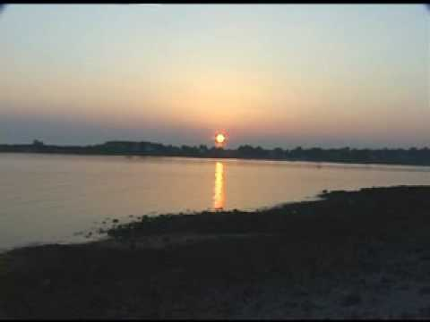 Karajan: Albinoni's adagio in sunset colors from Brittany