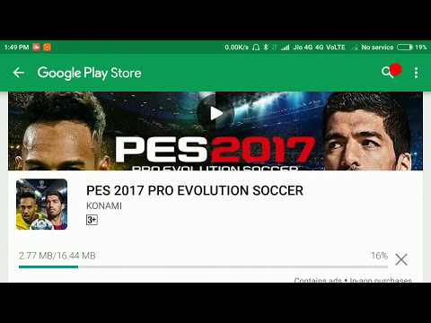 700Mb High Compressed || PES 2017 On Android || Apk+data Proof With Gameplay
