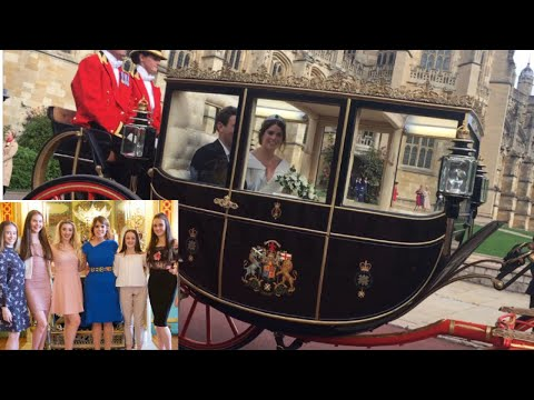 Princess Eugenie's wedding 2018💍🎉