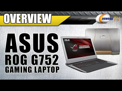 ASUS ROG G752VT-DH72 G-Sync Gaming Laptop Overview - Newegg TV