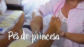 Pés de princesa