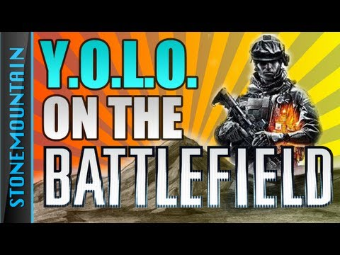 This guy plays BF3 while doing live action commentary like it's an actual war, it's amazing.